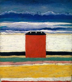 Kasimir Malewitsch - Rotes Haus.