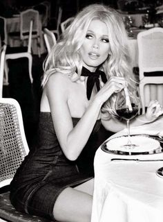 Claudia Schiffer | Photography by Ellen von Unwerth | For Guess Campaign | 2012 (3rd part)