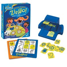 Best gifts for 4 year olds: Zingo Spanish game