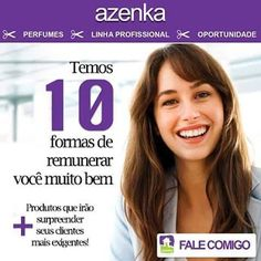 Oportunidades e Negócios: Azenka - Perfumes Cosméticos e Saúde Pessoal