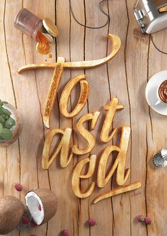 Creative Typography by Six & Five Studio | Inspiration Grid | Design Inspiration