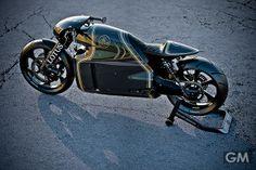 F-1じゃなくてロータスの名を冠したオートバイ「C-01」。カラーリングに惚れた! | GIGAMEN ギガメン
