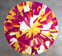 Round Diamond Rugs by Emma Elizabeth