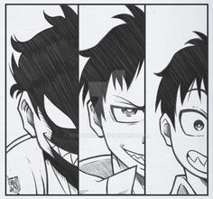 Shinra Kusakabe Sketch [FF] por Kennybest en DeviantArt Whyt Manga, Manga Naruto, Anime Drawings Sketches, Anime Sketch, Cool Drawings, Anime Character Drawing, Character Art, Fire Force Manga, Force Pictures