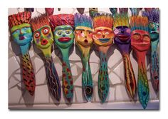 Art Mundo class taught by Ginny Piech Street coming up. I LOVE these little guys!
