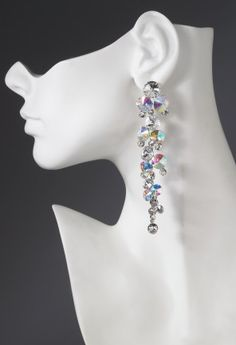 """4.5"""" waterfall earring features:•Multi drop design•Lead and nickel free"""