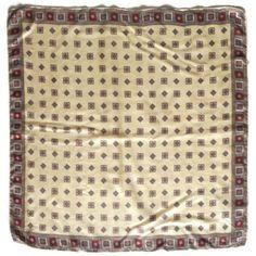 Mens Silk Scarves, Neck Scarves, Vintage Butterfly, Butterfly Print, Silk Neck Scarf, Velvet Scarf, Yellow And Brown, Red Silk, Vintage Yellow