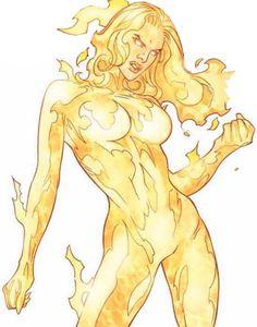 Women of Marvel...Magma