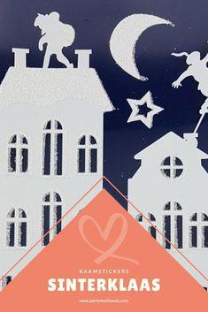 Maak je raam klaar helemaal klaar met deze leuke raamstickers! De stickers zijn wit met glitter en het formaat is 28,5 x 40 cm. Fashion Poses, Kids Crafts, Glitter, Invitations, Blog, Movie Posters, Instagram, Film Poster, Blogging