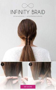 Because there is a difference  I personally prefer the dutch because     Add a personal twist to the low ponytail trend with an infinity braid    Braid