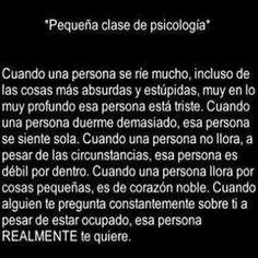 Clase de Psicologia
