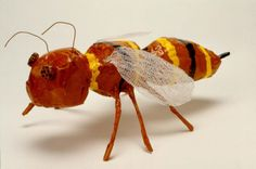 Paper mache bugs - another great project for our Flying creatures of the Fifth day study