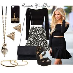 """Recreate Your Way"" by parklanejewelry on Polyvore"