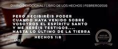 Día 1 - Hechos 1 Hoy iniciamos nuestra lectura del libro de los Hechos de los Apóstoles. #Devocional #LibroDeLosHechos #IcaRiosXela