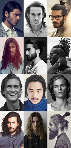 Men& Long Hairstyles For Top Hairstyles For Men, Popular Mens Haircuts, Guy Haircuts Long, 2015 Hairstyles, Cool Haircuts, Military Haircuts, Hair And Beard Styles, Short Hair Styles, Braid Styles