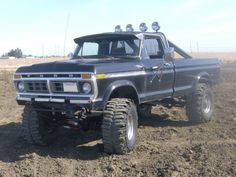 Sweet Truck for Sale... VERY RARE SMOG EXEMPT 1977 FORD F250 RANGER 4x4 URL: http://pages.ebay.com/link/?nav=item.view=271159087592