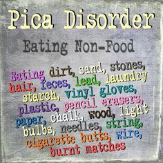 Pica In Children : Causes, Symptoms And Treatments | Eating ...