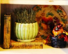 The Tuscan Home: Fall Entertainment Center