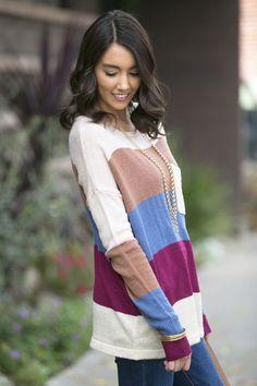 Kathryn Colorblock Sweater