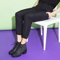 Happy Friday! Time to chill out in our #OpeningCeremony Axelle Track Pant & Grunge Sneaker.
