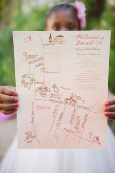 probably a good idea to have a map of your wedding (if you are getting married at a huge camp!)