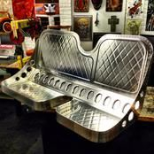 Bench # 7 - Handmade Seat Co Bomber Seats, Man Cave Bathroom, Custom Car Interior, Interior Ideas, Sheet Metal Fabrication, Custom Wheels, Classic Cars, Upholstery, Chair
