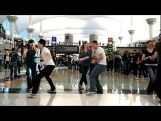 Denver Airport Swing Dance Flash Mob