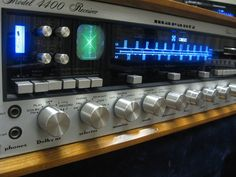 Marantz 4400 Am FM Quad Receiver Fully Restored WC 43 Cabinet SQA 2 Decoder | eBay
