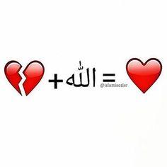 """Allah heals what the"" dunya breaks."