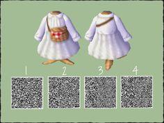 Animal Crossing Guide, Animal Crossing Qr Codes Clothes, Animal Crossing Pocket Camp, Motif Acnl, Ac New Leaf, Happy Home Designer, Picnic Dress, Motifs Animal, Animal Games