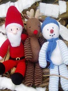 christmas trio knit free