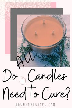Do all candles cure the same? Candle making includes processes such as candle curing times. Learn how to make candles at home or as a business. Paraffin Candles, Pillar Candles, Candle Store, Candle Companies, Candle Making, Fragrance Oil, Making Ideas, The Cure, Ceramics