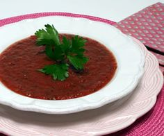 Chilled Roasted Tomato Soup : Diabetic Gourmet Magazine