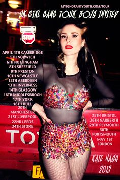 UK Girl Gang Tour, Boys Invied