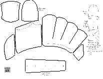 Pattern for Wisby Gauntlets