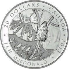 20 Dollar Silber Kanadische Kunst - Group of Seven: JEH Macdonald PP