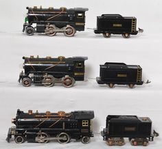 Lionel 257, 258 and 262E