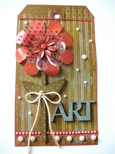 Studio 490: mixed media tag tutorial & a giveaway...  http://www.studio490art.blogspot.com/2013/08/mixed-media-tag-tutorial-giveawayink.html