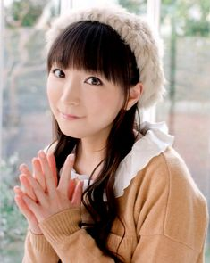 Yui Horie, a singer and anime voice actress, known for being Tohru Honda in Fruits Basket among others.