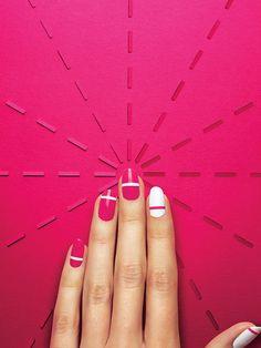 SELF Magazine Nails Editorial on Behance