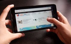 Caloryfrio.com también desde tu móvil o tablet gracias al diseño responsive