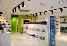 Shuropody retail store interior