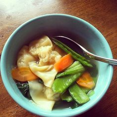 Delicious Chicken Wor Wonton Soup Recipe!