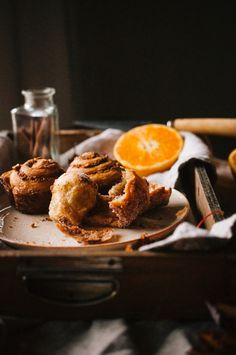 Cinnamon Orange Hazelnut Morning Buns