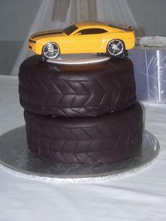 racing car cake designs   Fondant Covered Car Cake Ideas and Designs