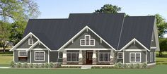 Handsome and Spacious Craftsman House Plan - 46309LA | Architectural Designs - House Plans