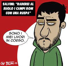 """Tauro (2016-07-24) Attentato di Monaco...e ruspa. Attentato Monaco: il killer litiga con un uomo che fa il """"Manovratore di Ruspe"""". Quando lo ha saputo Matteo Salvini, gli ha offerto la tessera onoraria della Lega Nord."""