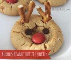 These Rudolph cookies are so accurate, Santa might cringe while eating them.