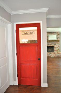 Custom pantry door by Rafterhouse.