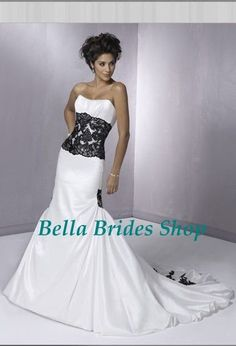Cheap lace skirts and dresses, Buy Quality lace chiffon dress directly from China lace wedding dress mermaid Suppliers:2011 New Style Mermaid White Black Lace Wedding Dress1.Material Us